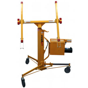 Hydraulic drywall lift, powered drywall lift, powered material lift