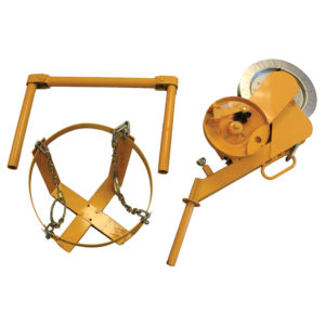 Hoist, tool lift, accessory for adjustable height mobile work platform and scaffolding